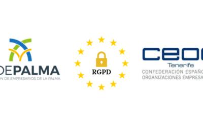 "FEDEPALMA y CEOE Tenerife organizan la charla ""Cumplimiento Legal y RGPD"""