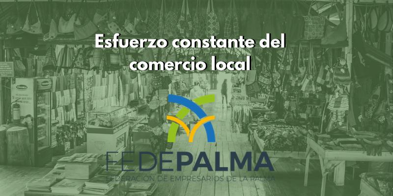 Esfuerzo constante del comercio local