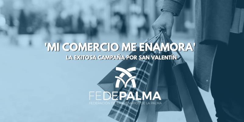 'Mi comercio me enamora' la exitosa campaña por San Valentín