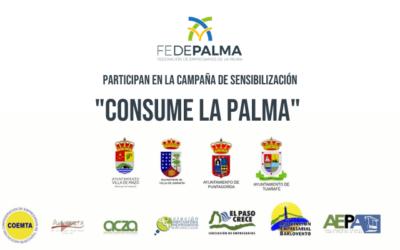 """Campaña de sensibilización """"Consume La Palma"""""""