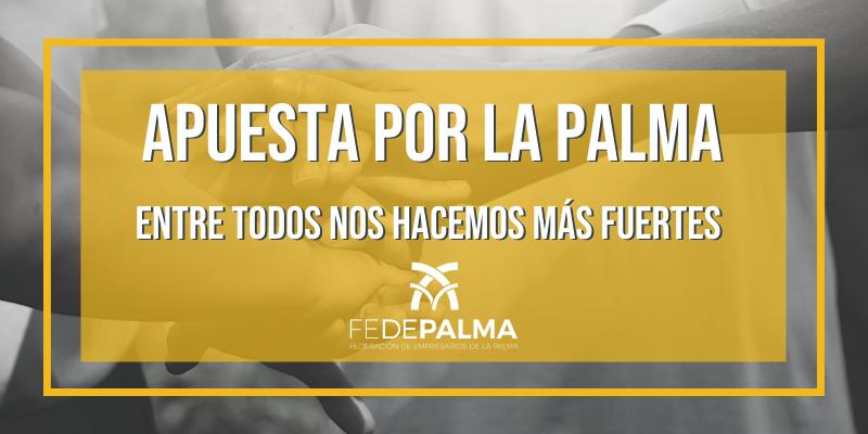 Apuesta por La Palma. Entre todos nos hacemos más fuertes
