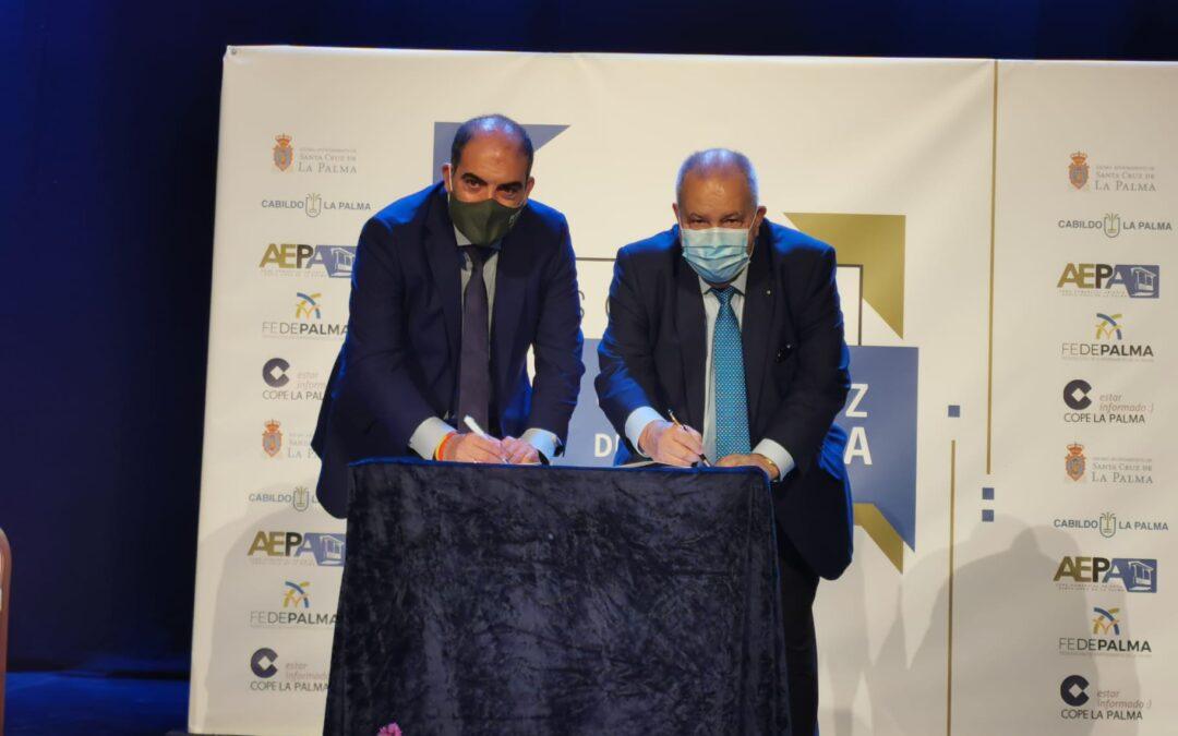 FEDEPALMA y ATA firman un convenio de colaboración para mejorar las condiciones de empresarios y trabajadores de La Palma