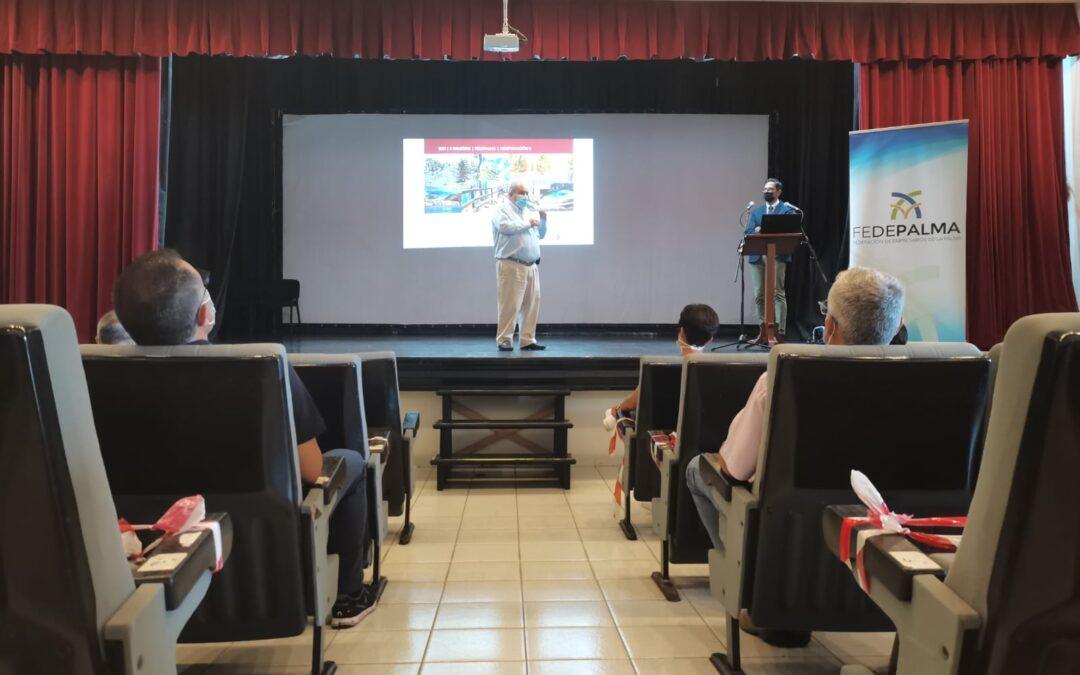 La Federación de Empresarios de La Palma presenta el 4º Informe de Coyuntura de la isla, segundo trimestre 2021